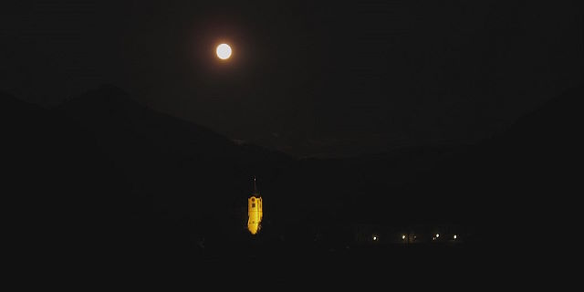 Vollmond in Molln